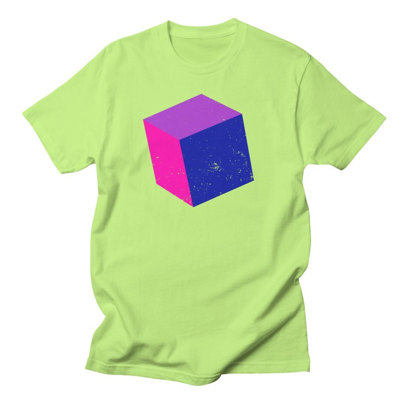 Bi - Cubular 2 Men's Regular T-Shirt by Prismheartstudio 's Artist Shop