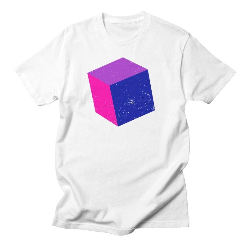 Bi - Cubular 2 Men's T-Shirt by Prismheartstudio 's Artist Shop