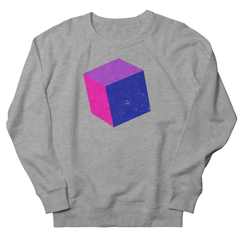 Bi - Cubular 2 Women's French Terry Sweatshirt by Prismheartstudio 's Artist Shop