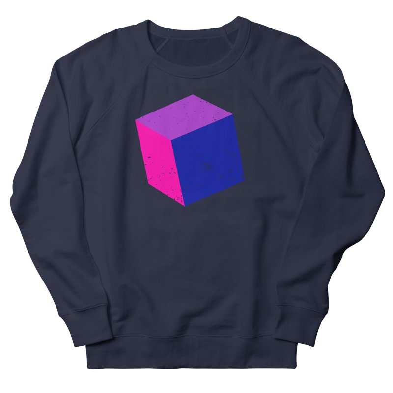 Bi - Cubular 2 Women's French Terry Sweatshirt by Prismheartstudio 's Artist Shop
