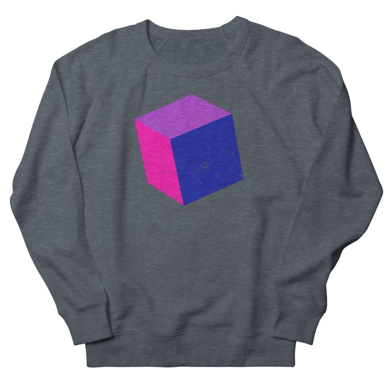 Bi - Cubular 2 Men's French Terry Sweatshirt by Prismheartstudio 's Artist Shop