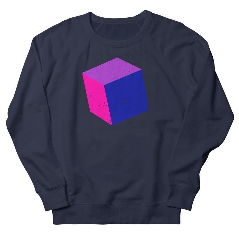 Bi - Cubular 2 Men's French Terry Sweatshirt by Prismheartstudio 's Artist Shop