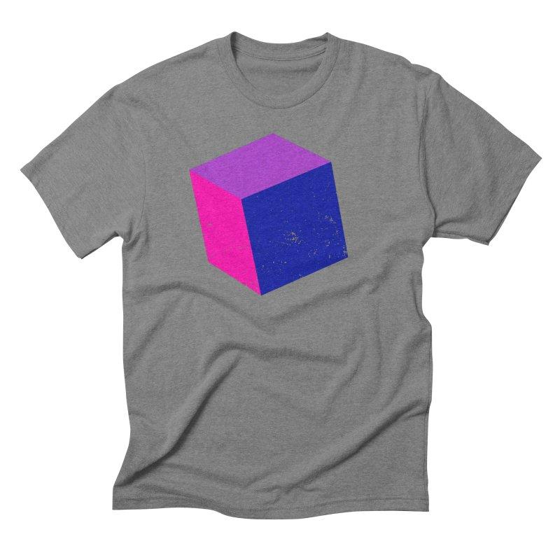 Bi - Cubular 2 Men's Triblend T-Shirt by Prismheartstudio 's Artist Shop