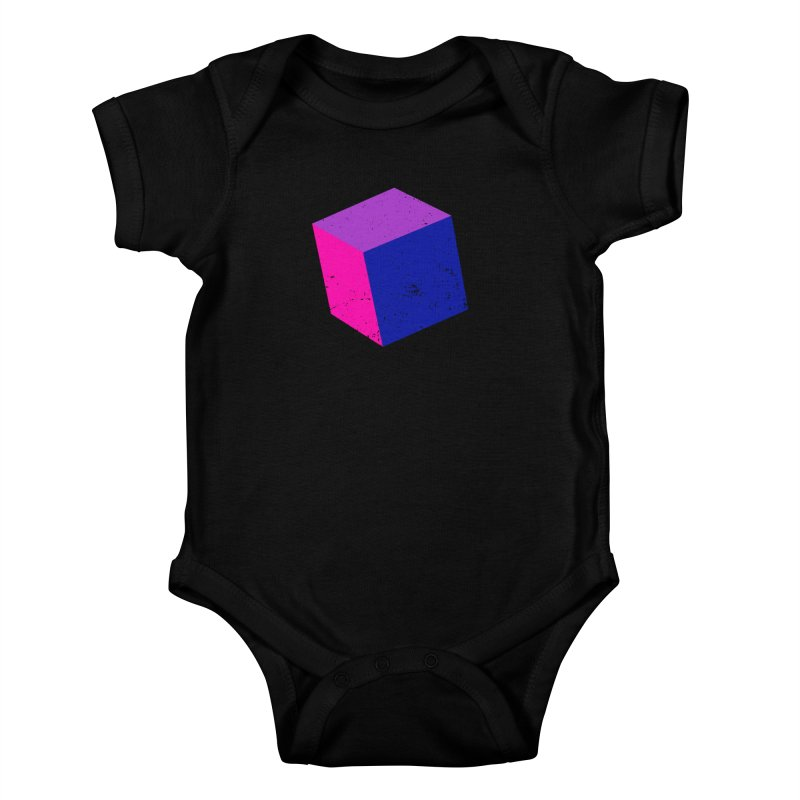 Bi - Cubular 2 Kids Baby Bodysuit by Prismheartstudio 's Artist Shop