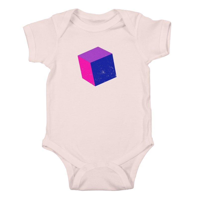 Bi - Cubular 2 Kids Baby Bodysuit by Prismheartstudio 's Artist Shop