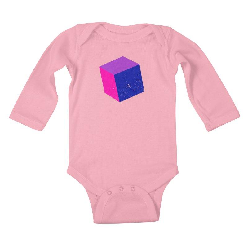 Bi - Cubular 2 Kids Baby Longsleeve Bodysuit by Prismheartstudio 's Artist Shop