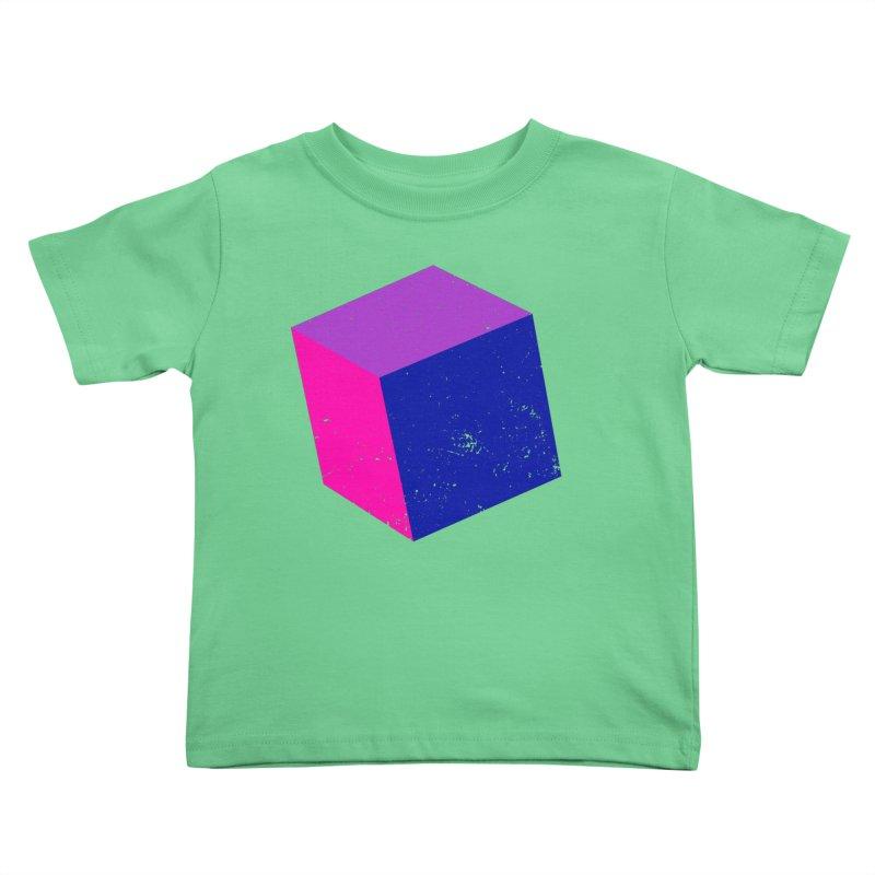 Bi - Cubular 2 Kids Toddler T-Shirt by Prismheartstudio 's Artist Shop