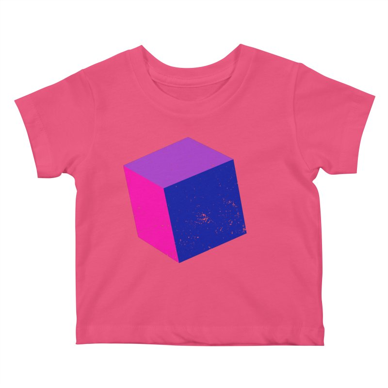 Bi - Cubular 2 Kids Baby T-Shirt by Prismheartstudio 's Artist Shop