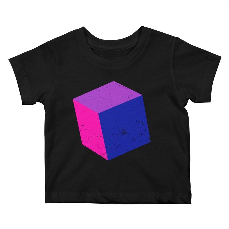 Bi - Cubular 2 Kids Baby T-Shirt by Prismheartstudio 's Artist Shop