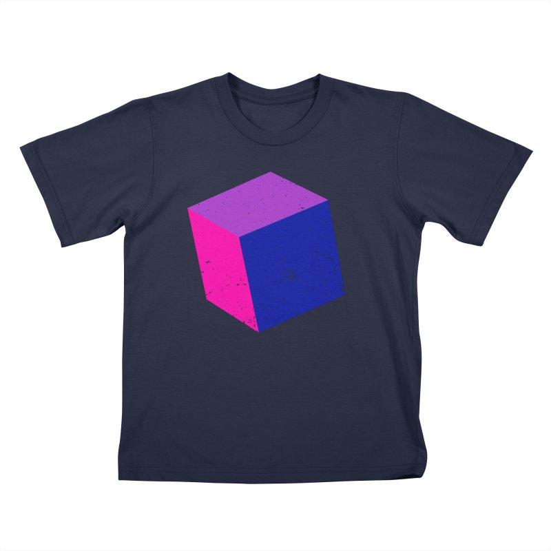 Bi - Cubular 2 Kids T-Shirt by Prismheartstudio 's Artist Shop