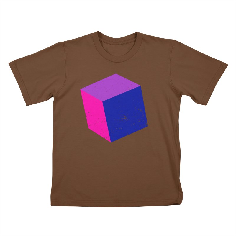 Bi - Cubular 2 Kids T-Shirt by Prismheartstudio 's Artist Shop