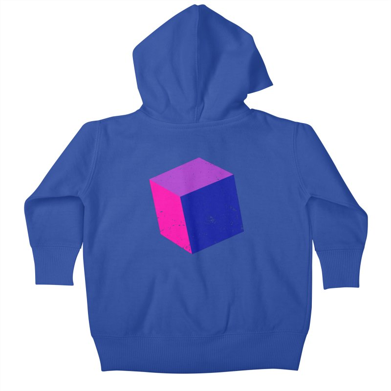 Bi - Cubular 2 Kids Baby Zip-Up Hoody by Prismheartstudio 's Artist Shop