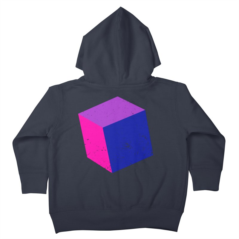 Bi - Cubular 2 Kids Toddler Zip-Up Hoody by Prismheartstudio 's Artist Shop