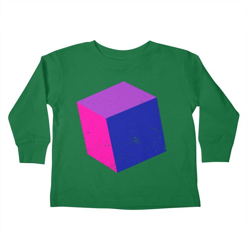 Bi - Cubular 2 Kids Toddler Longsleeve T-Shirt by Prismheartstudio 's Artist Shop