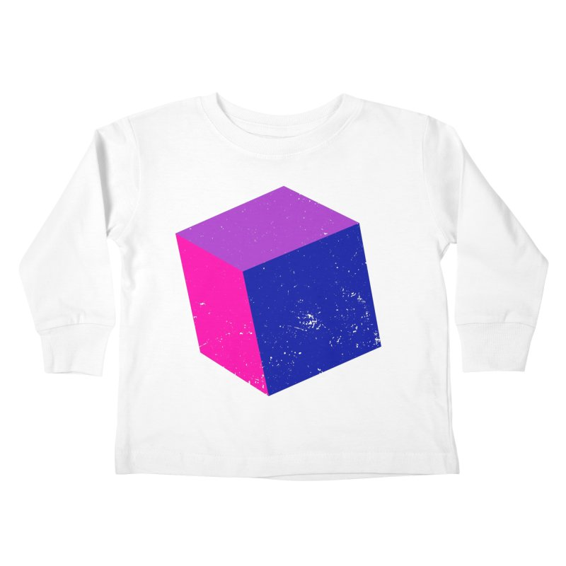 Bi - Cubular 2 Kids Toddler Longsleeve T-Shirt by Prismheartstudio 's Artist Shop