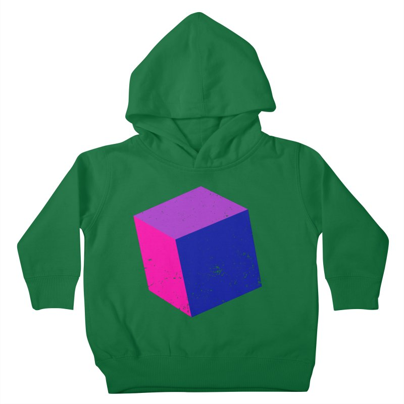 Bi - Cubular 2 Kids Toddler Pullover Hoody by Prismheartstudio 's Artist Shop