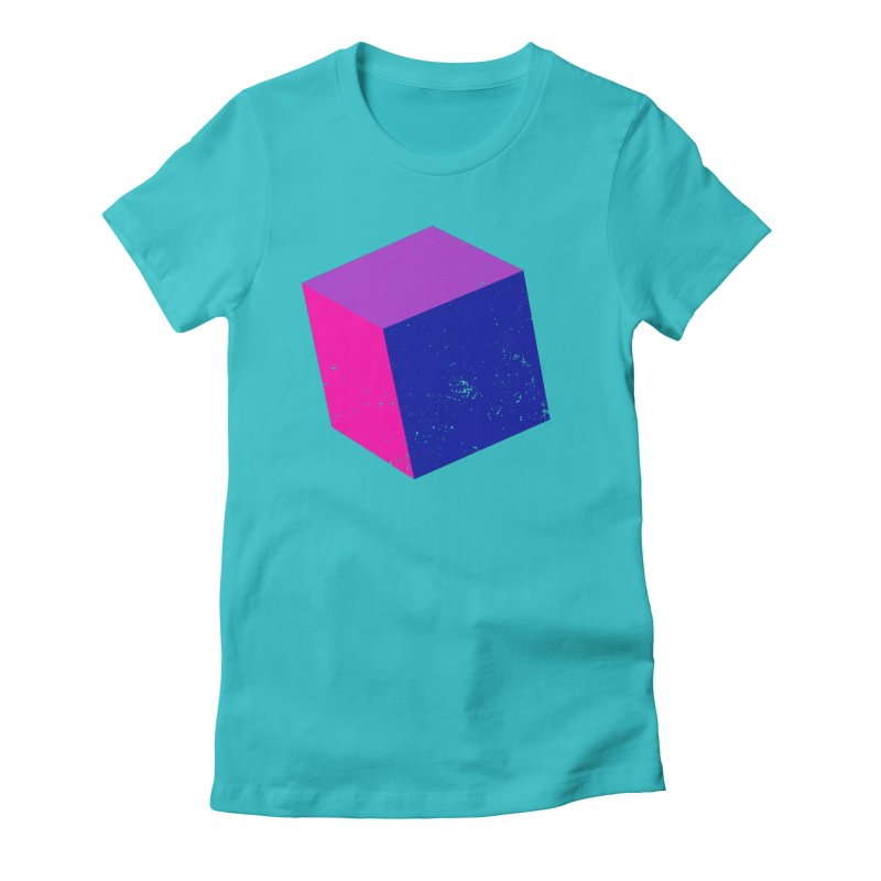 Bi - Cubular 2 Women's Fitted T-Shirt by Prismheartstudio 's Artist Shop