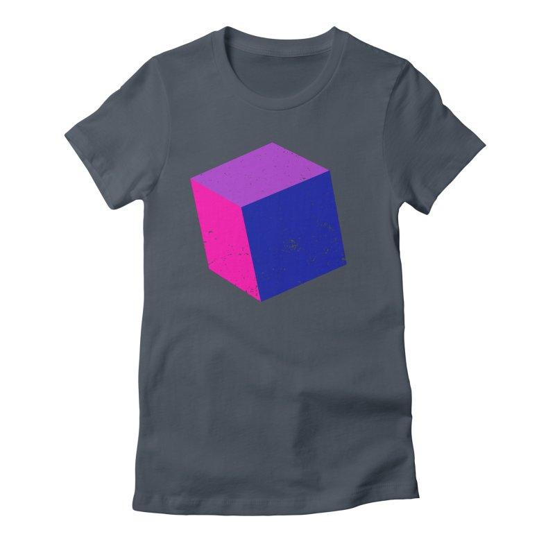 Bi - Cubular 2 Women's T-Shirt by Prismheartstudio 's Artist Shop