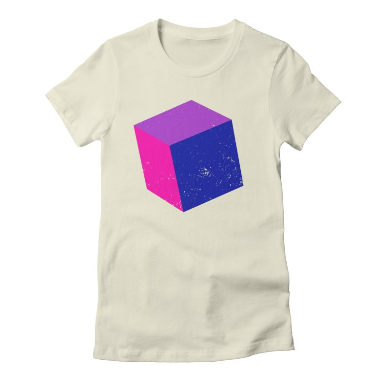 Bi - Cubular 2 Women's Fitted T-Shirt by Prismheartstudio 's Artist Shop