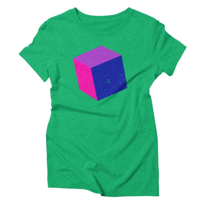 Bi - Cubular 2 Women's Triblend T-Shirt by Prismheartstudio 's Artist Shop