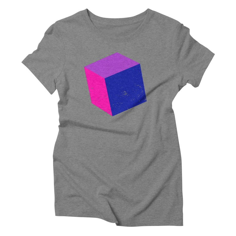 Bi - Cubular 2 Women's Triblend T-Shirt by Prismheartstudio 's Artist Shop