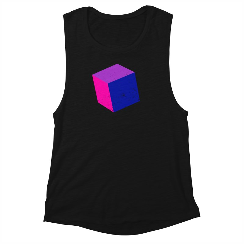 Bi - Cubular 2 Women's Muscle Tank by Prismheartstudio 's Artist Shop
