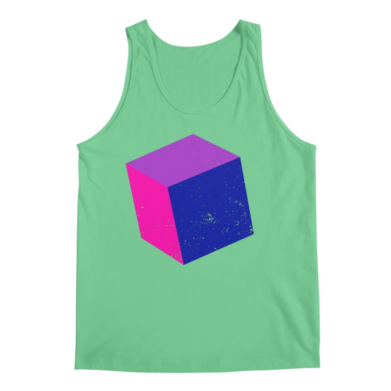 Bi - Cubular 2 Men's Regular Tank by Prismheartstudio 's Artist Shop