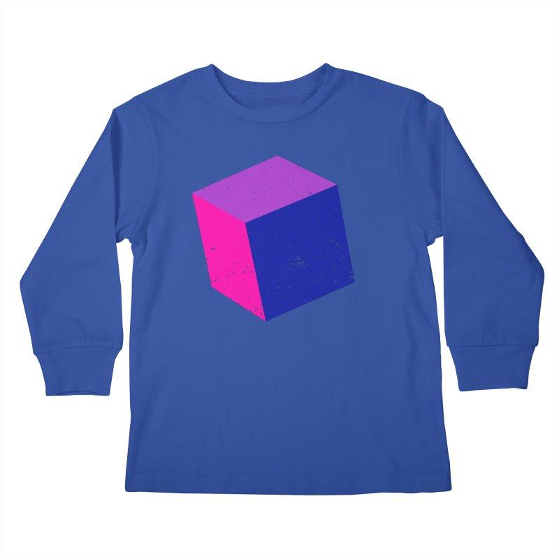 Bi - Cubular 2 Kids Longsleeve T-Shirt by Prismheartstudio 's Artist Shop