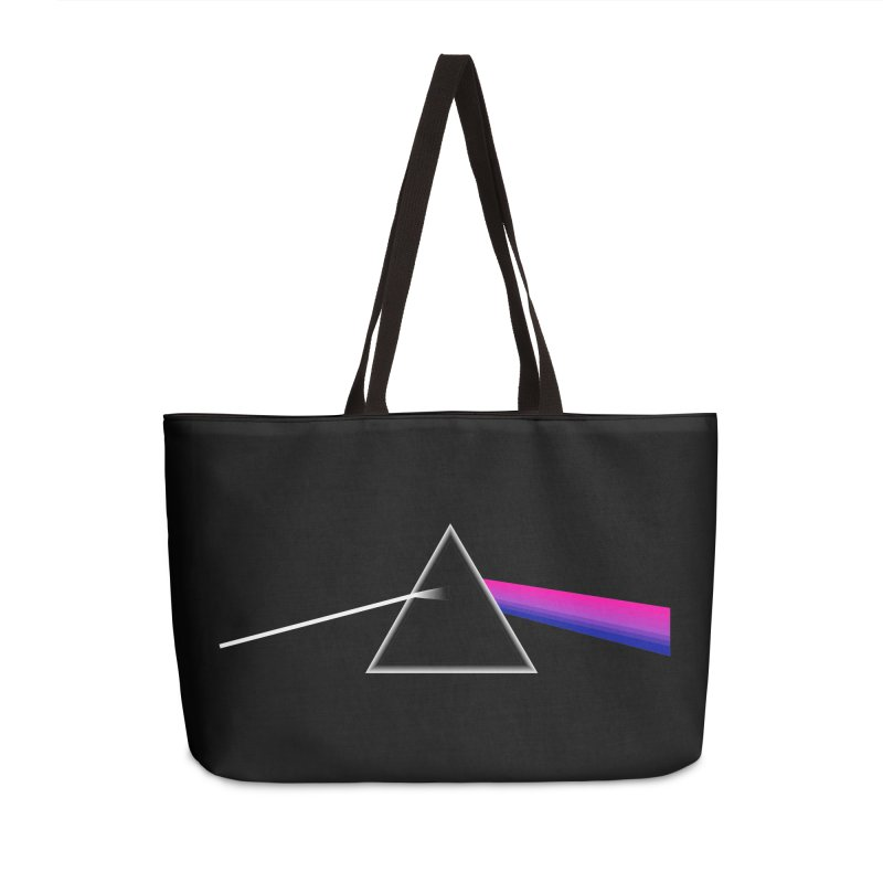 Dark Bi of the Moon Accessories Weekender Bag Bag by Prismheartstudio 's Artist Shop