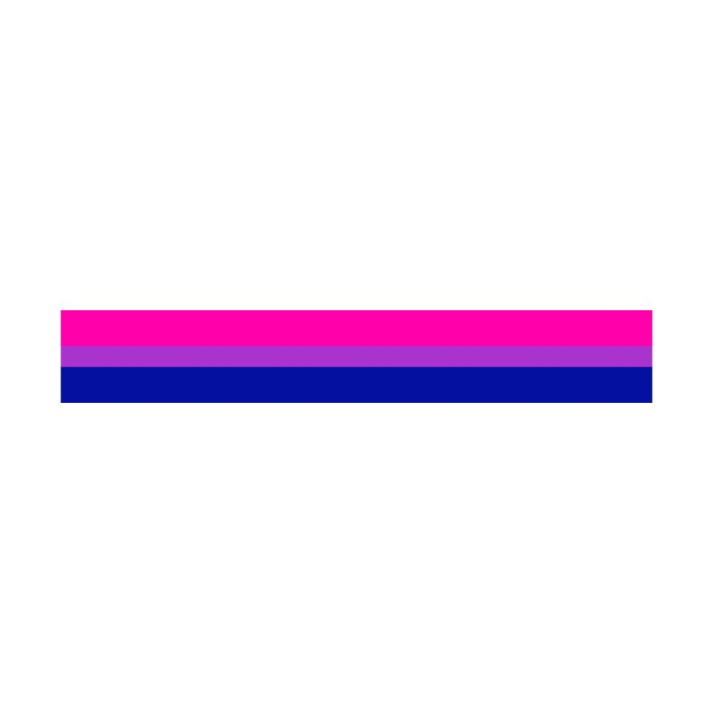 Bi Flag Bars by Prismheartstudio 's Artist Shop