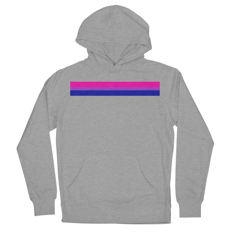 Bi Flag Bars Women's Pullover Hoody by Prismheartstudio 's Artist Shop