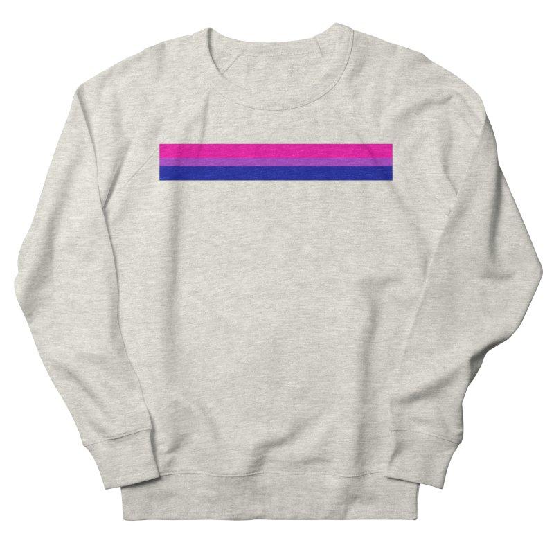 Bi Flag Bars Women's French Terry Sweatshirt by Prismheartstudio 's Artist Shop