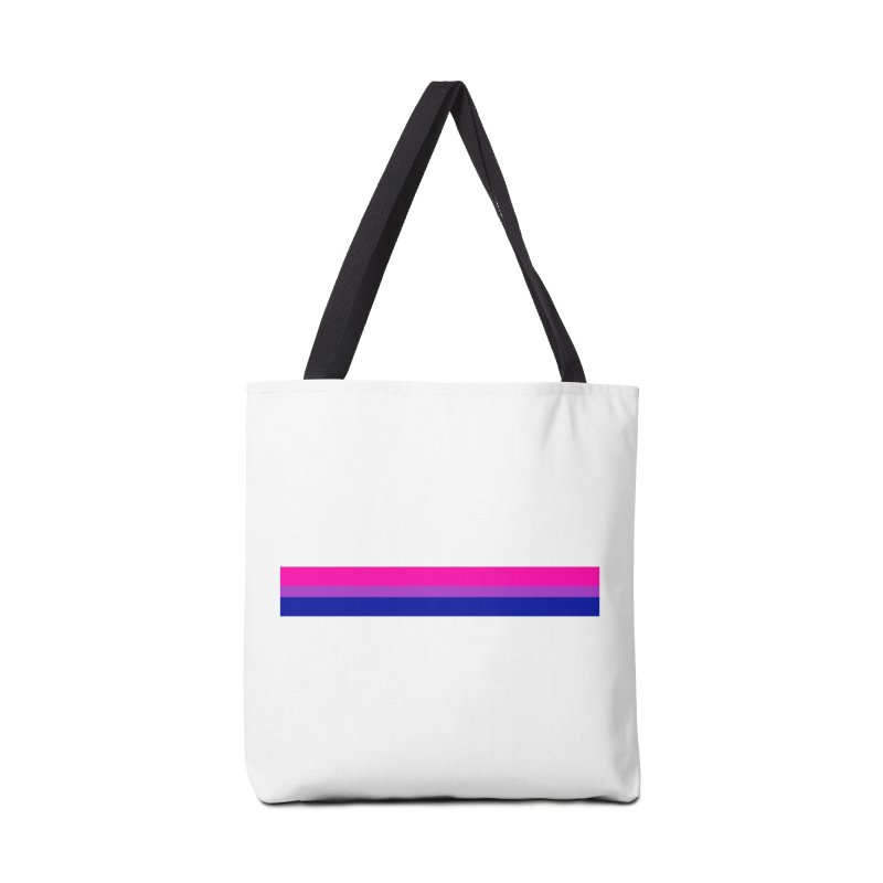 Bi Flag Bars Accessories Bag by Prismheartstudio 's Artist Shop