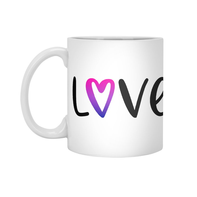 Love + Heart Accessories Standard Mug by Prismheartstudio 's Artist Shop