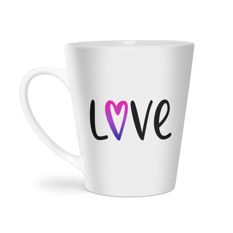 Love + Heart Accessories Latte Mug by Prismheartstudio 's Artist Shop