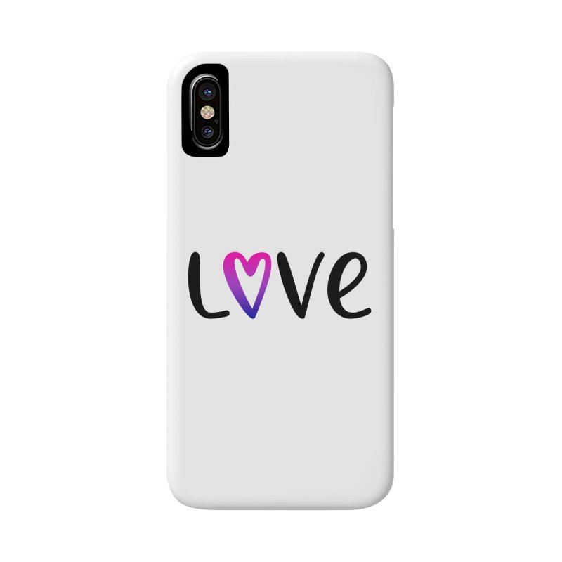 Love + Heart Accessories Phone Case by Prismheartstudio 's Artist Shop