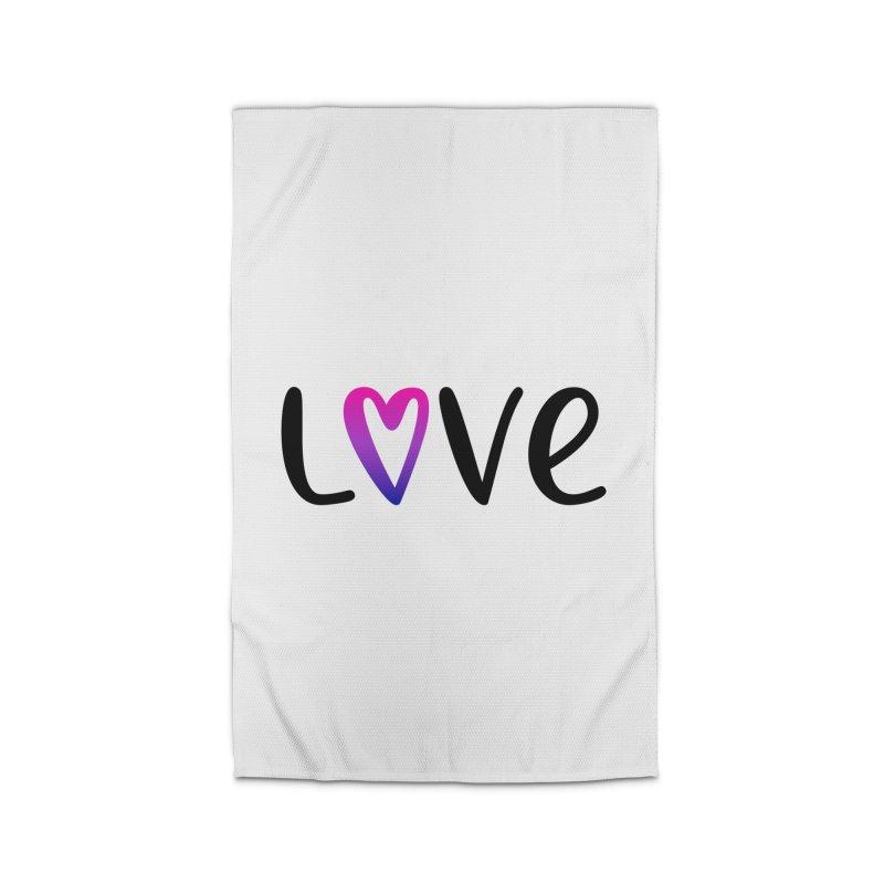 Love + Heart Home Rug by Prismheartstudio 's Artist Shop