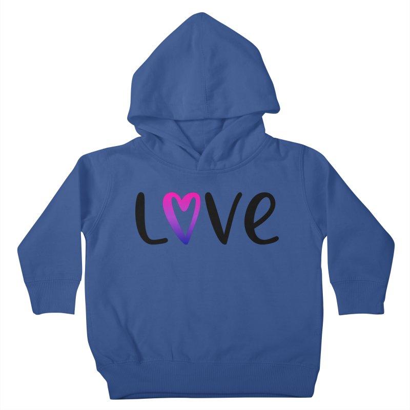 Love + Heart Kids Toddler Pullover Hoody by Prismheartstudio 's Artist Shop