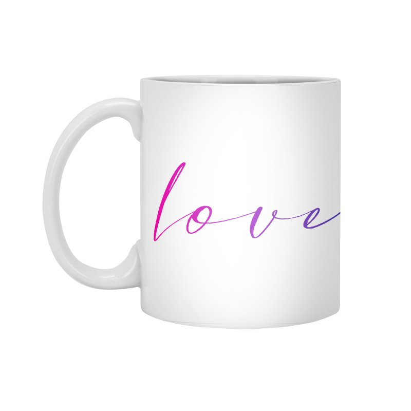 Scripted Love Accessories Standard Mug by Prismheartstudio 's Artist Shop