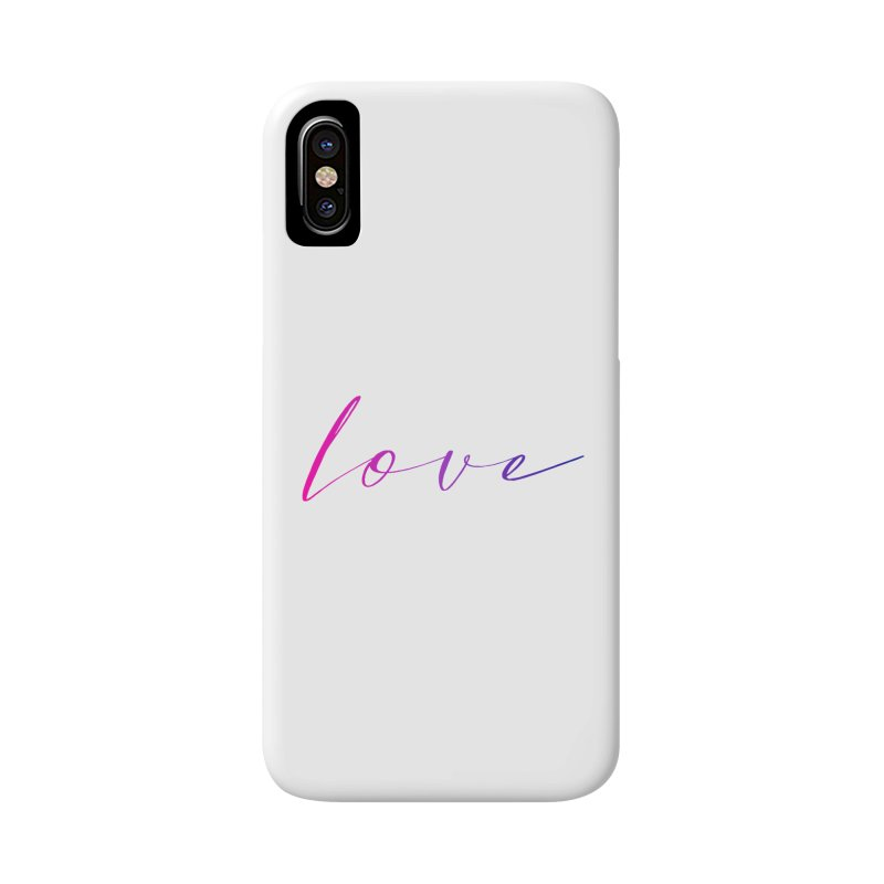 Scripted Love Accessories Phone Case by Prismheartstudio 's Artist Shop