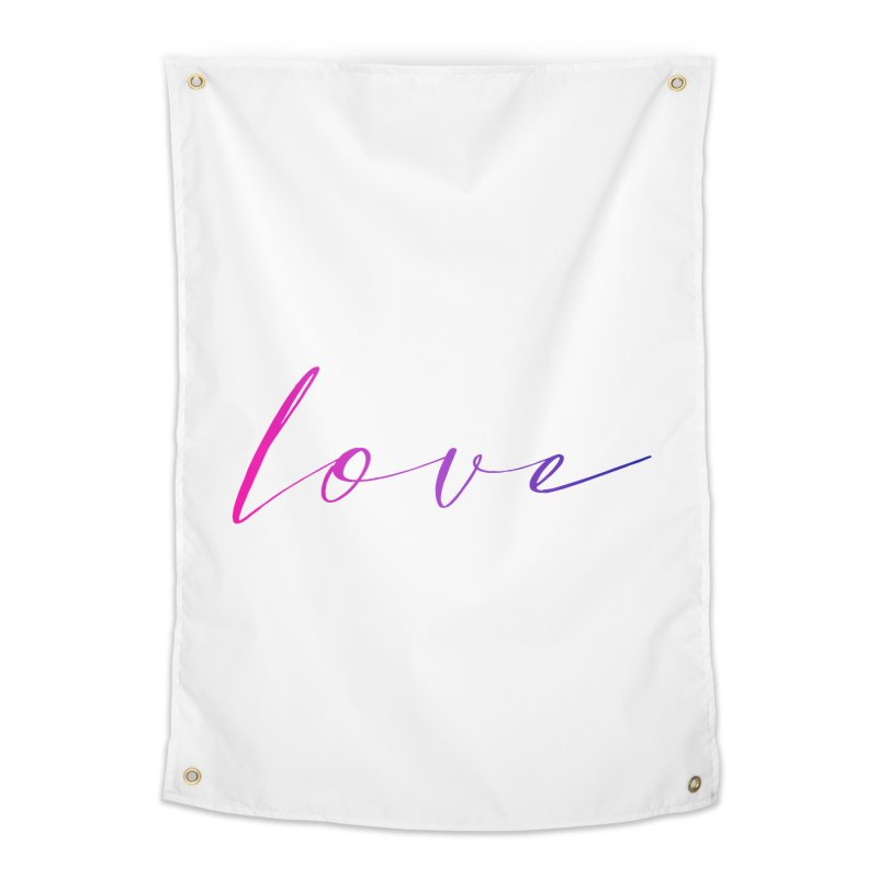 Scripted Love Home Tapestry by Prismheartstudio 's Artist Shop