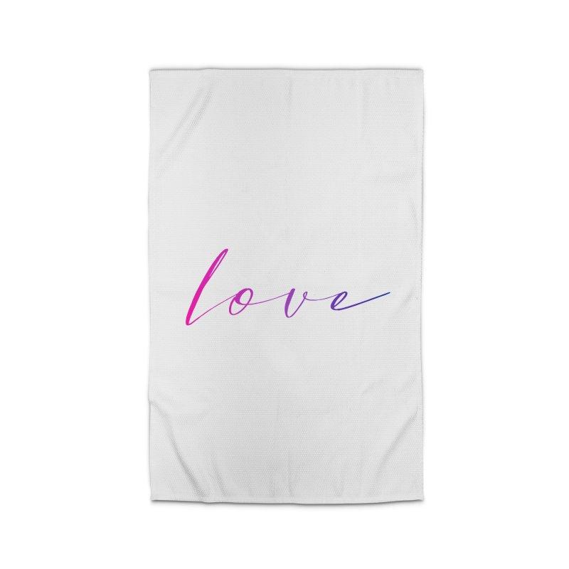 Scripted Love Home Rug by Prismheartstudio 's Artist Shop