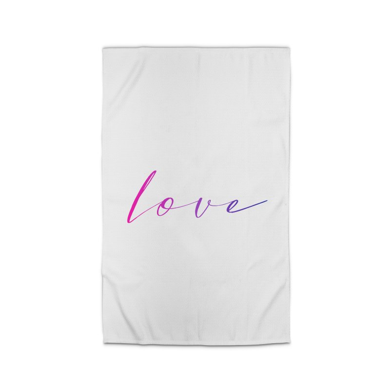 Scripted Love Home Rug by Prismheartstudio 's Artist Shop