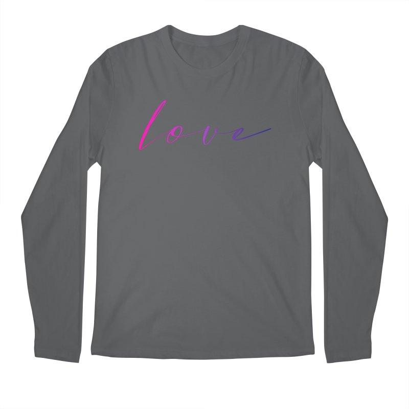 Scripted Love Men's Longsleeve T-Shirt by Prismheartstudio 's Artist Shop