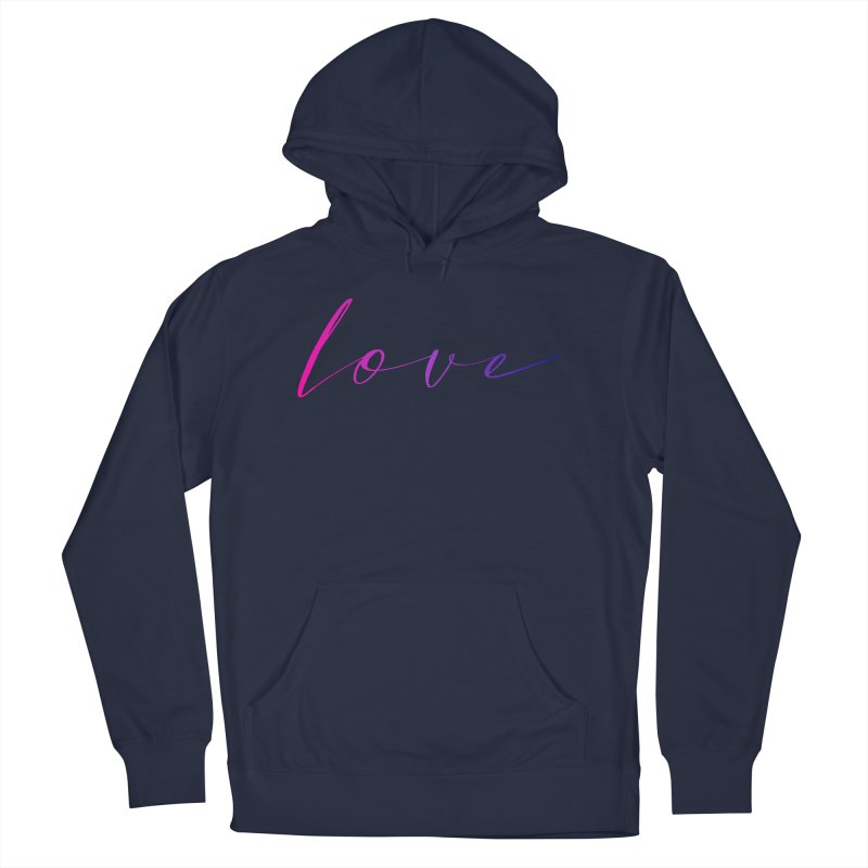 Scripted Love Men's French Terry Pullover Hoody by Prismheartstudio 's Artist Shop