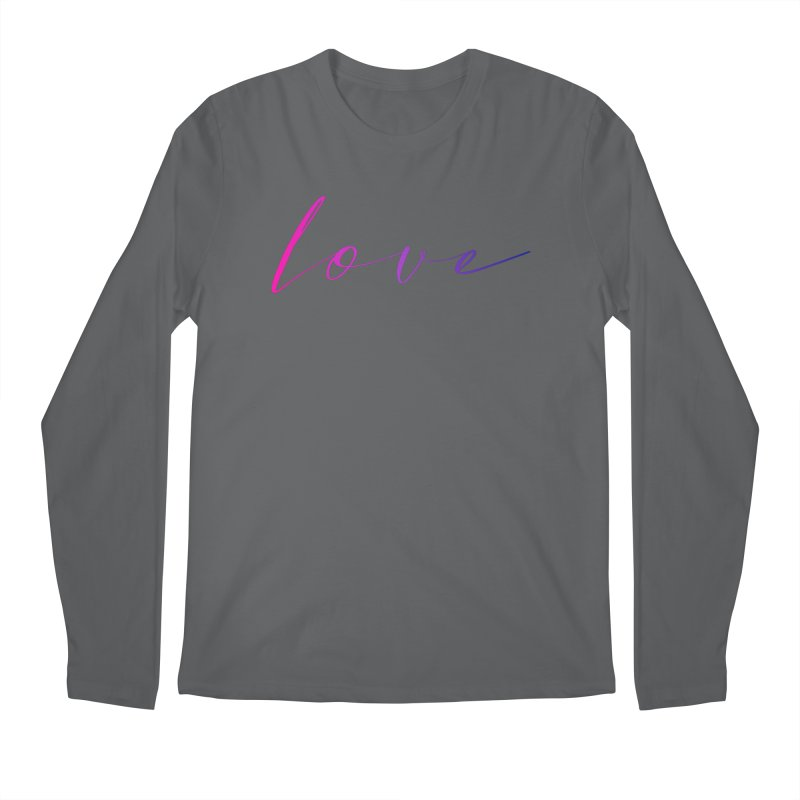 Scripted Love Men's Longsleeve T-Shirt by Prismheartstudio 's Artist Shop