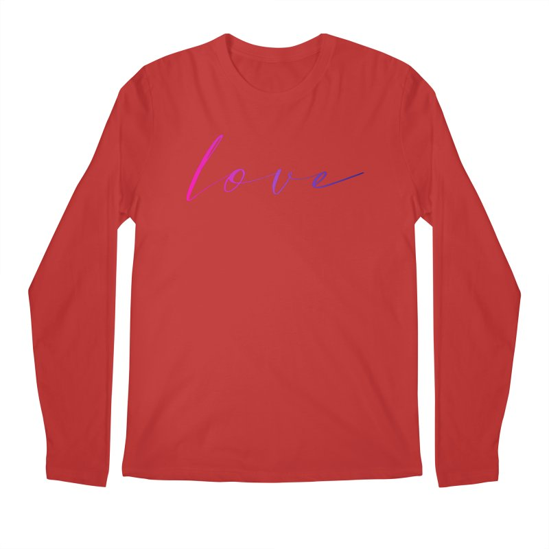 Scripted Love Men's Regular Longsleeve T-Shirt by Prismheartstudio 's Artist Shop
