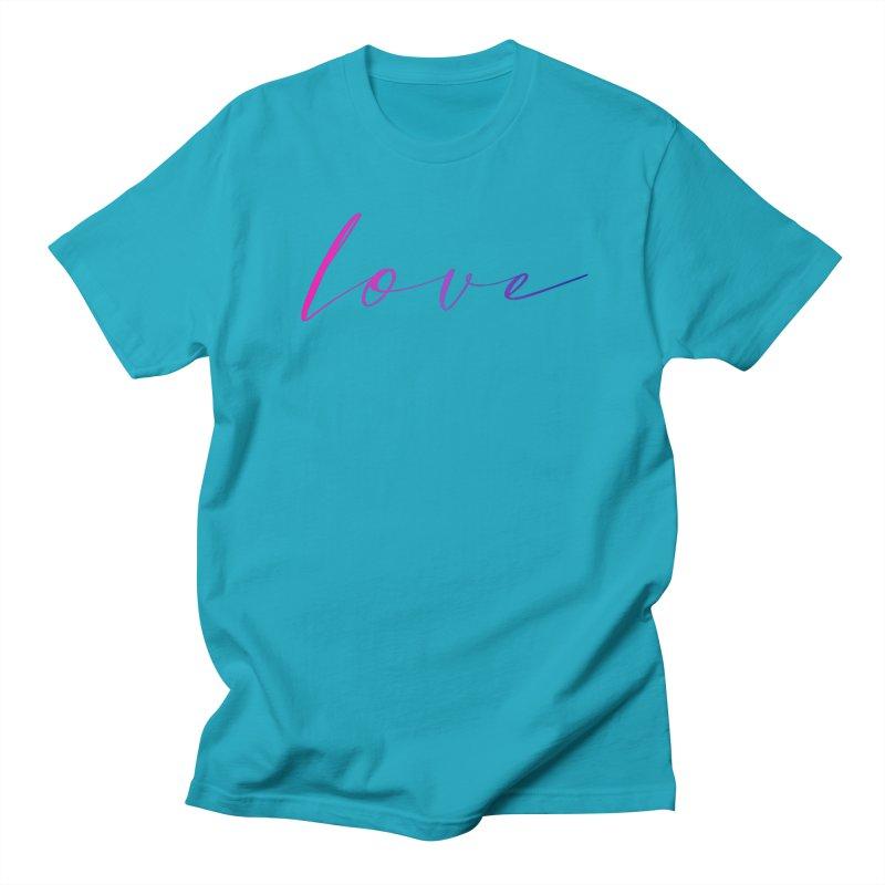 Scripted Love Women's Regular Unisex T-Shirt by Prismheartstudio 's Artist Shop