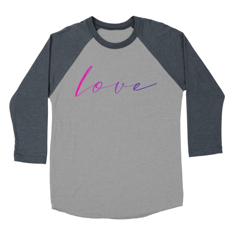 Scripted Love Women's Baseball Triblend Longsleeve T-Shirt by Prismheartstudio 's Artist Shop