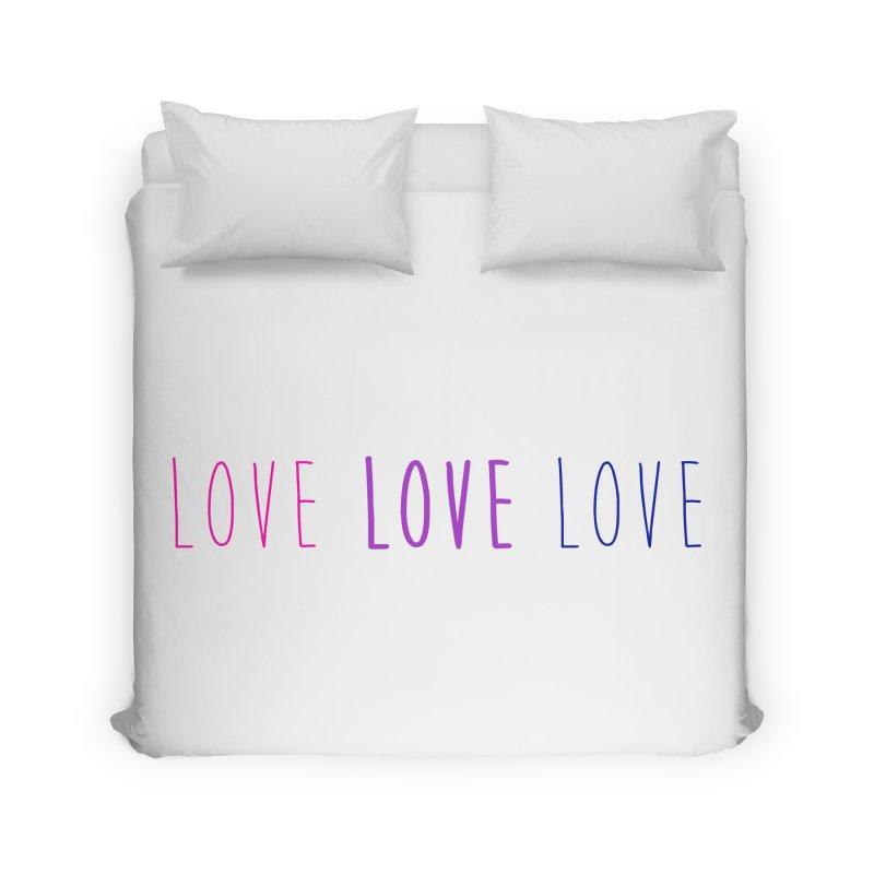 BI LOVE Home Duvet by Prismheartstudio 's Artist Shop